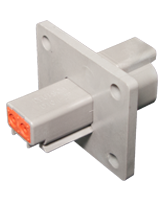 DT04-2P-L012 Deutsch DT Series Flange Mount 2 Pin Receptacle