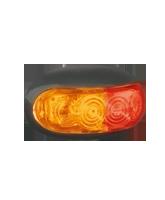 LED50AR LED Red/Amber Side Marker Lamp