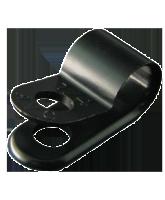 "NP4.7SB 4.7mm Nylon ""P"" Clip – 4.6mm Mounting hole"