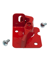 QV24505R Red Isolator Lever Lockouts