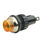 QV392A 19mm Amber Pilot Light