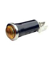 QV67A 12mm Amber Pilot Light