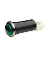 QV67G 12mm Green Pilot Light