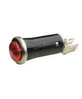 QV67R 12mm Red Pilot Light