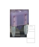 QVMIN3BL 3 Amp Mini Blade Fuse