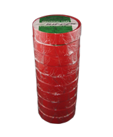 QVRIP25RD Electrical Tape – Red – 20m Roll – 10 Pack