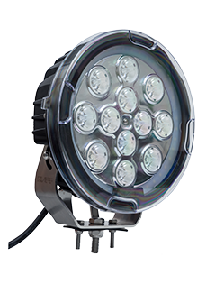 QVSL120S 120w High Powered Round LED Spotlight – Spot Beam
