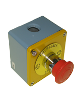 TMS01METAL Metal Emergency Stop Switch
