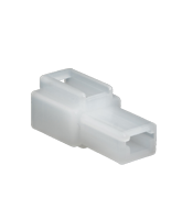 QVC1F10 1 Pin QK Type Connector Receptacle Housing