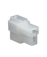 QVC2F10 2 Pin QK Type Connector Receptacle Housing