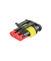 QV282087-1 Superseal 3 Circuit Male Housing