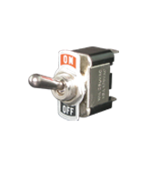 ST8105 SPST Off/On Toggle Switch with Face Plate