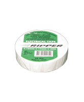 RIP25WH Electrical Tape – White – 20m Roll