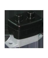 QVCBBB Black Circuit Breaker Cover