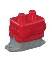 QVCBBR Red Circuit Breaker Cover