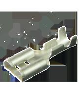 804402-51BL2 Uninsulated Female Spade Terminal