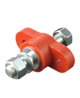 C1938RD 250A Double Insulated Terminal Stud – Red