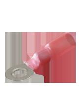 CTWP02 Red Heatshrink 4mm Ring Terminal