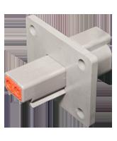 DT04-2P-L012 Deutsch DT Series Flange Mount 2 Pin Receptacle
