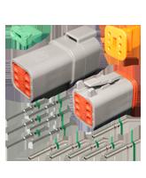 DT6 Deutsch 6 Pin DT Series Complete Connector Kit