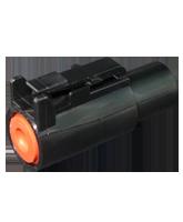 DTHD06-1-12S Deutsch DTHD Series Single Circuit 25A Plug Housing – Size 12