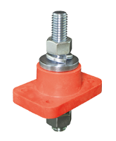QVC1925-2 250A Double Insulated Terminal Stud – Red