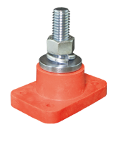 QVC1933R 400A Single Insulated Terminal Stud – Red