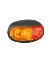 LED50AR LED Red/Amber Side Marker Lamp