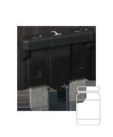 QVATOF1/50 1 Amp Standard ATO Blade Fuse