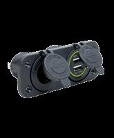 QVPSFM2AU Twin Flush Mount Accessory / USB Socket