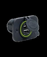 QVPSFMU Single Flush Mount USB Socket
