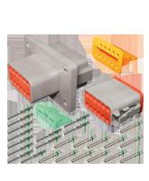 DT12FL-KIT Deutsch 12 Pin Flange Mount DT Series Complete Connector Kit