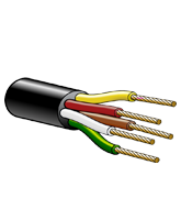 3305C 3mm 5 Core Trailer Cable