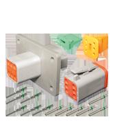 DT6FL-KIT Deutsch 6 Pin Flange Mount DT Series Complete Connector Kit