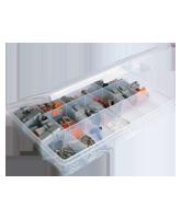 QVDTKIT DT Assortment Kit with Plastic Case
