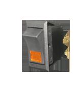 SR23103A SPST Off/On Rocker Switch – Amber