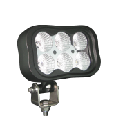 QVWLR60WF 60w High Powered Rectangle LED Worklamp – Flood Beam