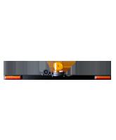 RHBAR1250-NT10 Black Alloy Mine Bar with Rotating Beacon & Worklight copy