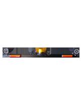 RHBAR1250-B1B Black Alloy Mine Bar with LED Beacon & Worklight