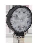 QVWL27WR 27w High Powered Round LED Worklamp – Flood Beam