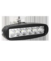 QVWLR18 18W High Powered LED Worklamp – Flood Beam