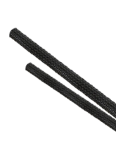 ES2040 40mm Expanded Diameter Black Flexible Braided Sleeving