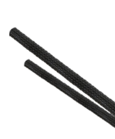 ES1230 30mm Expanded Diameter Black Flexible Braided Sleeving