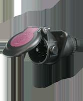 QVTS7EBS24 7 Pin EBS Trailer Socket