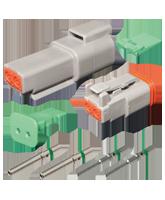 DT2 Deutsch 2 Pin DT Series Complete Connector Kit